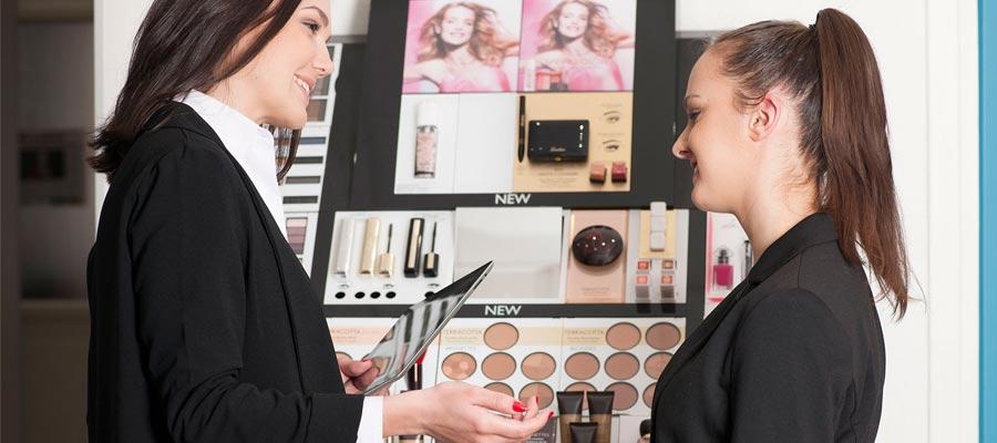 integrer le metier de conseillere cosmetique